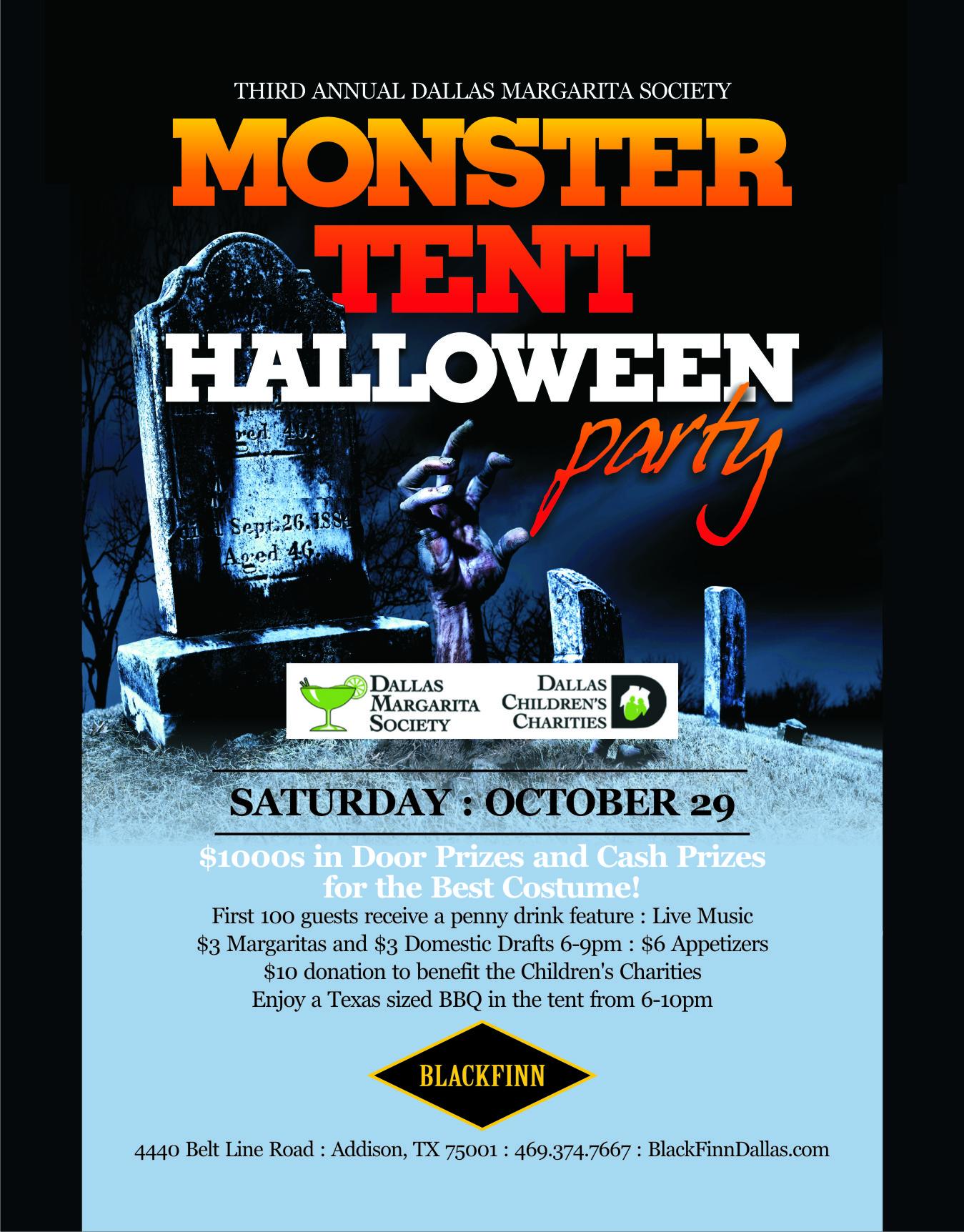 Dallas Margarita Society:: DMS Monster Tent Halloween Party 2011!